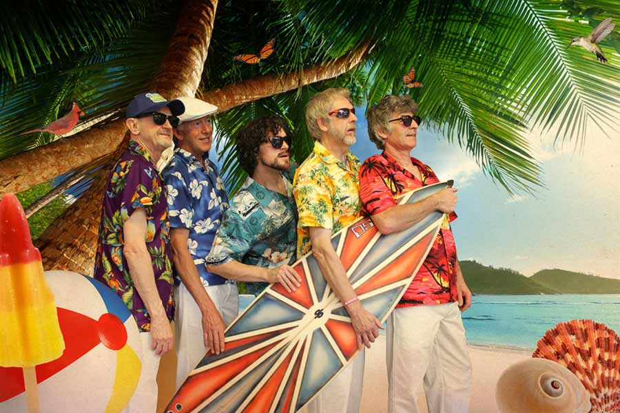 "The Beach Boys Tribute by ""Good Vibrations"" exclusively with Kendall Events in Cyprus"