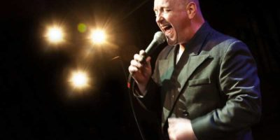 Andrew Rafferty as Phil Collins | Kendall Events in Cyprus