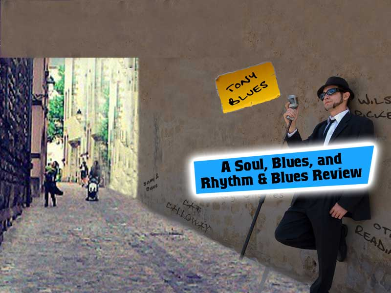 'Committed to Blues' by Tony Blues bringing you beloved music from the Stax of Souls era, the precursor to Motown.